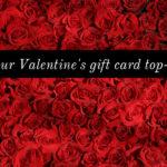 Valentine gift voucher